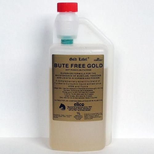 Gold label  - Bute Free - GOLD (Superior Formula) 1 Litre